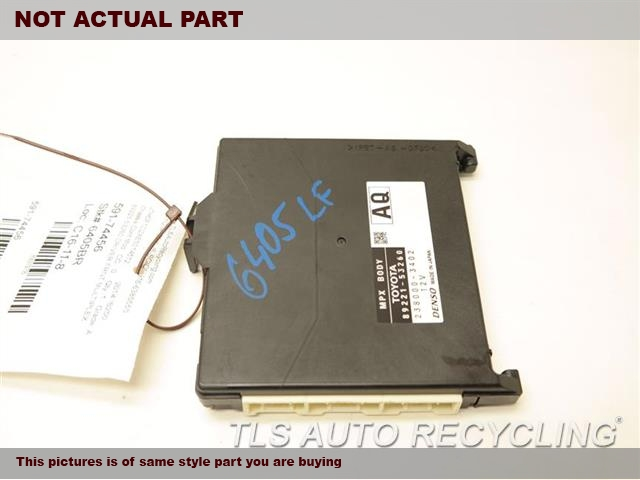 2014 Lexus IS 250 Chassis Cont Mod. NETWORK COMPUTER 89220-5369089221-53260 DRIVER FRNT MULTIPLEX