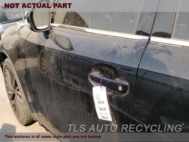 2014 Lexus IS 250 Door Assembly, Front. 000,LH,BLK,PW,PL,PM,SDN, W/O WATER
