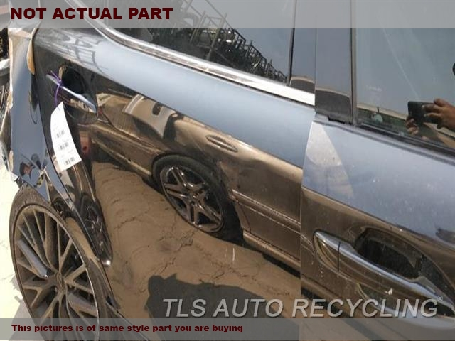 2014 Lexus IS 250 Door Assembly, Rear side. 000,RH,BLK,PW,PL