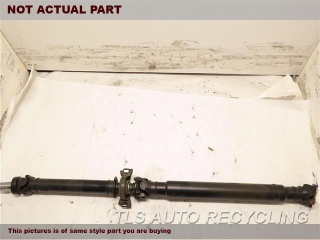 2014 Lexus IS 250 Drive Line, Rear. SDN, RWD