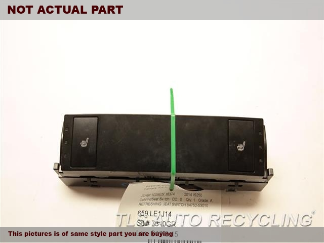 2014 Lexus IS 250 Dash switch. COMBINATION SWITCHECO/NORMAL/SPORT SWITCH 84970-53010