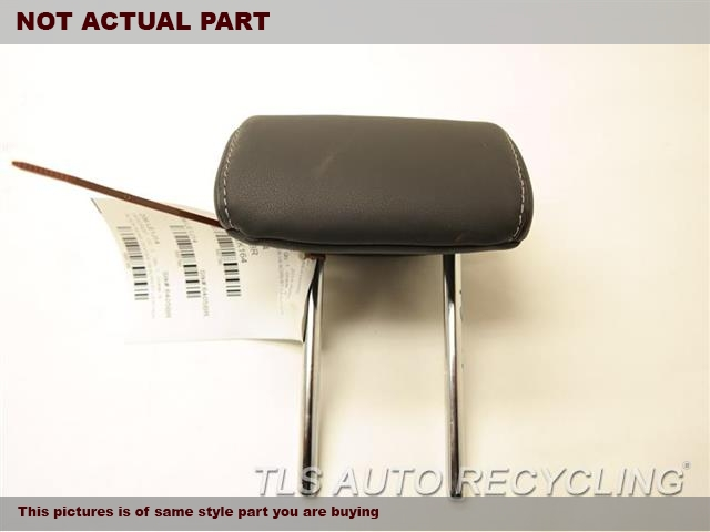 2014 Lexus IS 250 Headrest. 71940-53290-C0BLACK REAR OUTER LEATHER HEADREST