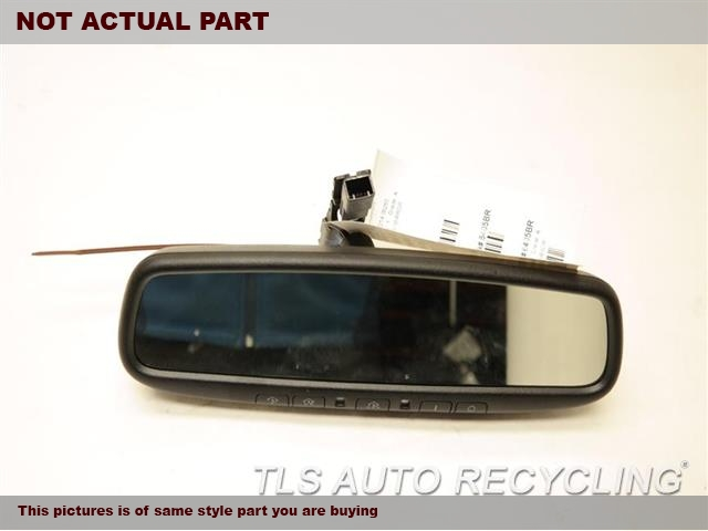 2014 Lexus IS 250 Rear View Mirror Interior.  87810-0WJ90BLACK INTERIOR REAR VIEW MIRROR