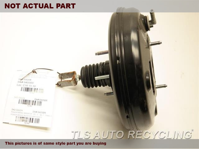 2014 Lexus IS 250 Brake Booster. POWER BRAKE BOOSTER 44610-53370