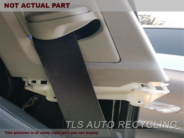 2014 Lexus IS 250 Seat Belt front. BLK,(BUCKET), SDN, DRIVER, RETRACTO