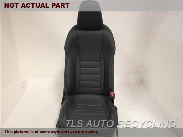 2014 Lexus IS 250 Seat, Front. 71401-53020 71910-53590 71101-53430BLACK PASSENGER FRONT LEATHER SEAT