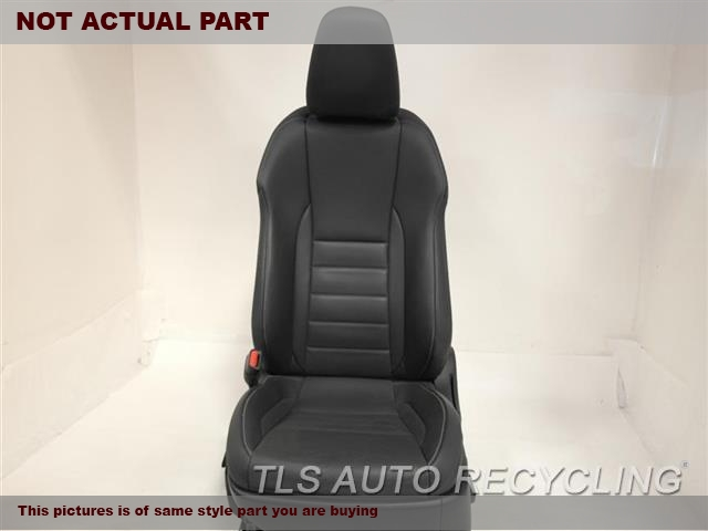 2014 Lexus IS 250 Seat, Front. 71402-53020-C6 71102-53430-C6BLACK DRIVER FRONT LEATHER SEAT
