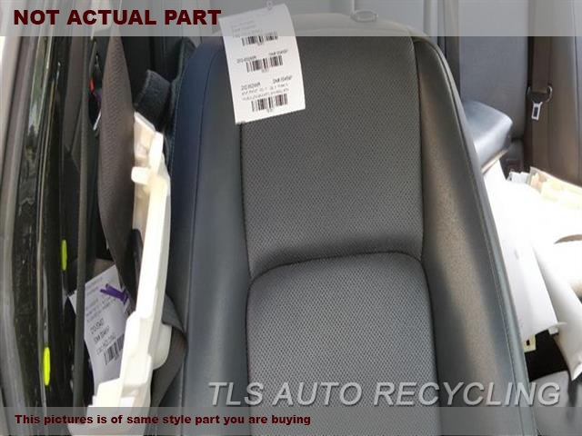2014 Lexus IS 250 Seat, Front. RH,BLK,LEA,(BUCKET), (AIR BAG), SDN