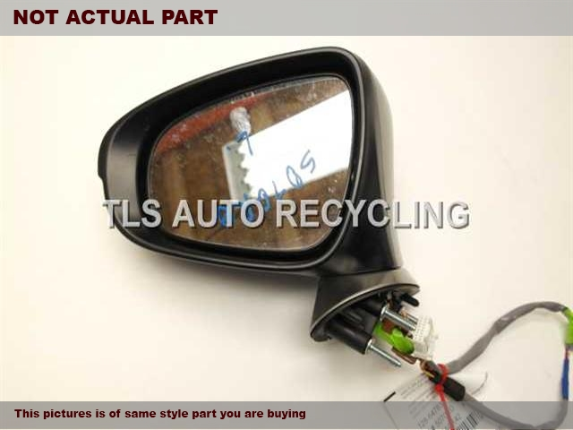 2015 Lexus IS 250 Side View Mirror. 87940-53700-C0GRAY DRIVER SIDE VIEW MIRROR