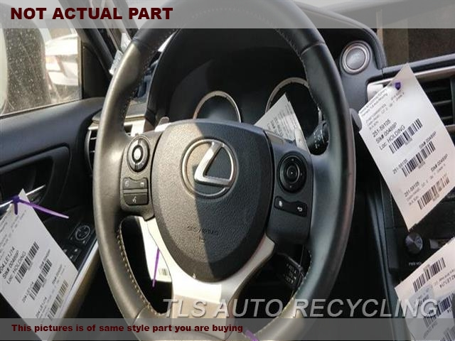 2014 Lexus IS 250 Steering Wheel. BLK,LEA