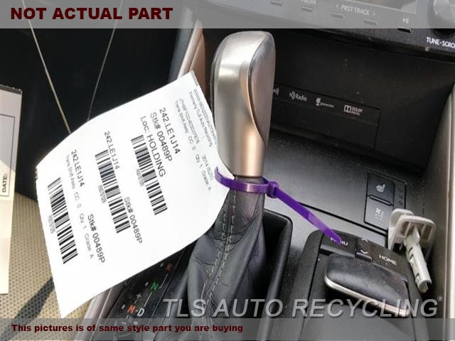 2014 Lexus IS 250 Transmission shifter. SHIFTER