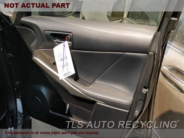 2014 Lexus IS 250 Trim Panel, Fr Dr. BLK,LEA,RH