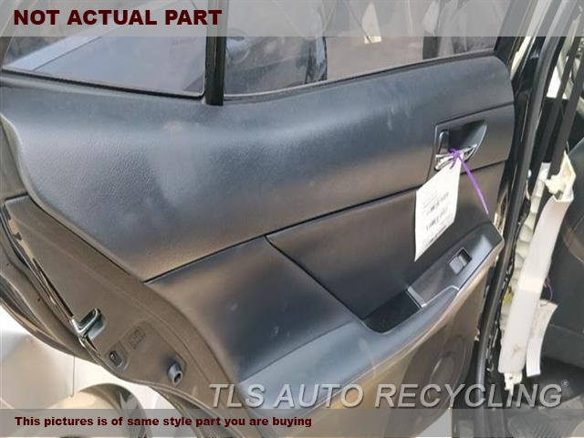2014 Lexus IS 250 Trim Panel, Rr Dr. BLK,LEA,LH