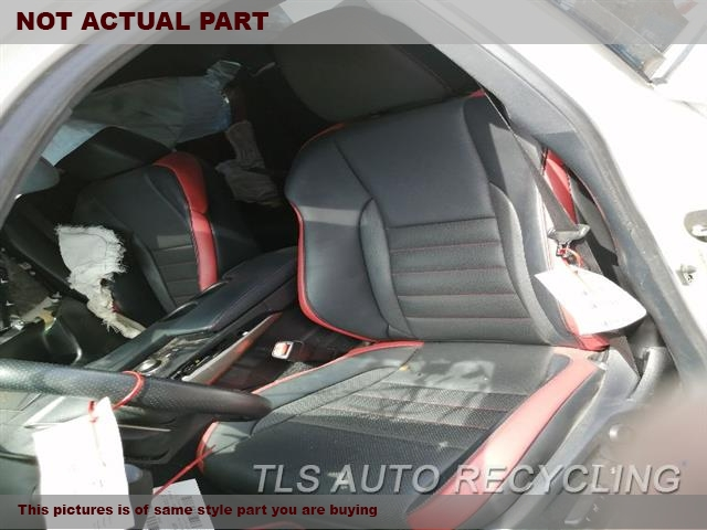 2015 Lexus IS 250 Seat, Front. LH,BLK,LEA,(BUCKET), (AIR BAG), SDN