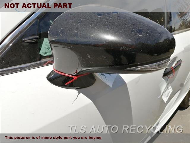 2014 Lexus IS 250 Side View Mirror. LH,BLK,PM,POWER, SDN, BLIND SPOT AL