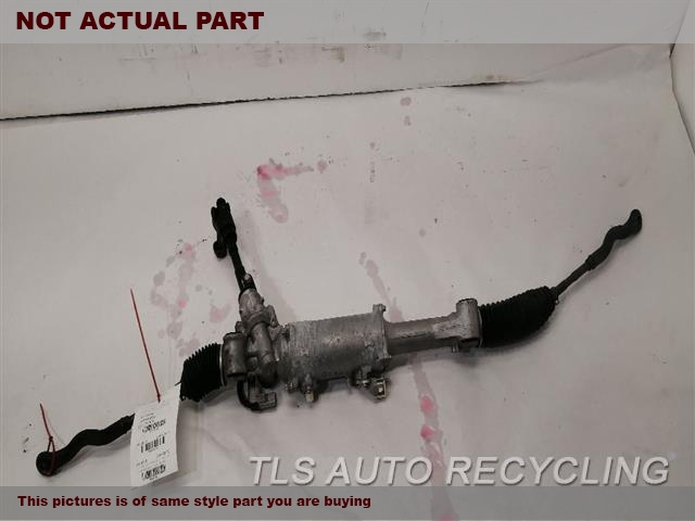 2015 Lexus IS 250 Steering Gear Rack. POWER RACK AND PINION, SDN, RWD