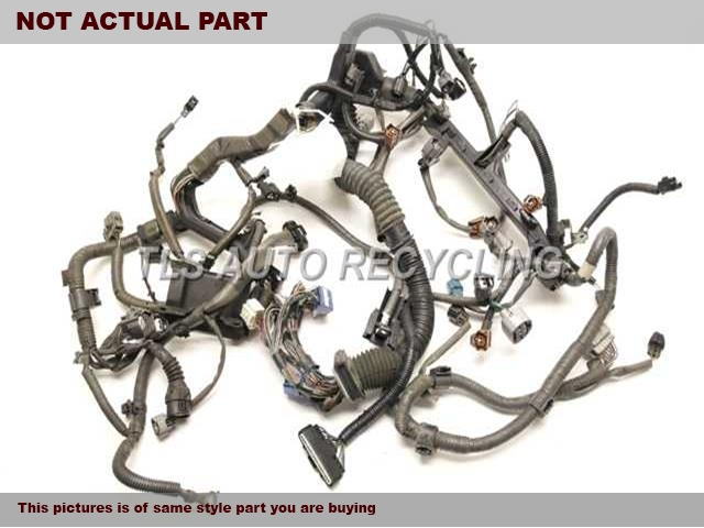 2001 lexus is 300 engine wire harness 82121 53100 used. Black Bedroom Furniture Sets. Home Design Ideas