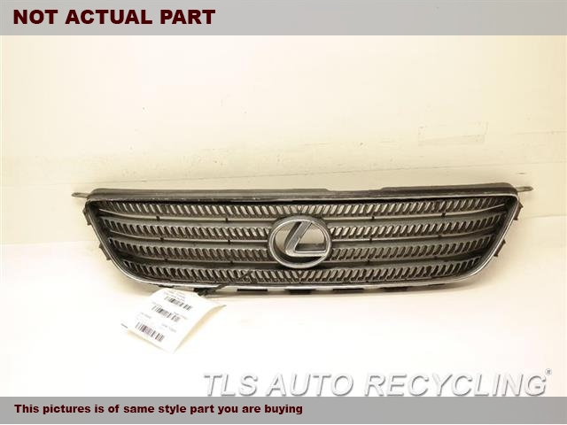 2001 Lexus IS 300 Grille. BLK,UPPER GRILLE