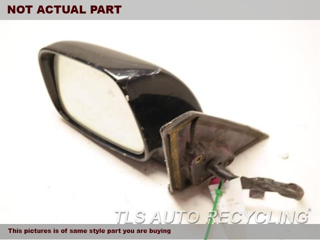 2001 Lexus IS 300 Side View Mirror. SCRATCH LH,BLK,PM,POWER, L.
