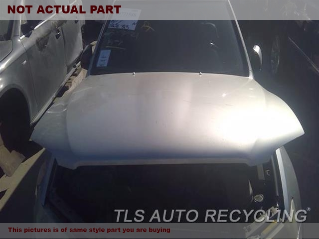GRAY HOOD ASSEMBLI CREASE DENTS