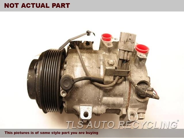 2009 Lexus IS 250 AC Compressor. AC COMPRESSOR 88320-3A270