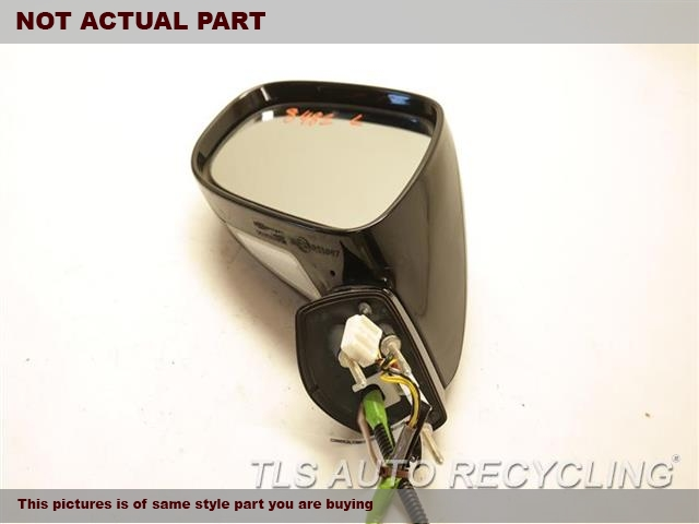 2007 Lexus IS 250 Side View Mirror. LH,GRY,PM,POWER, L., W/O AUTOMATIC