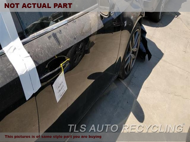2014 Lexus IS 250 Door Assembly, Front. 000,RH,BLK,PW,PL,PM,SDN, W/O WATER
