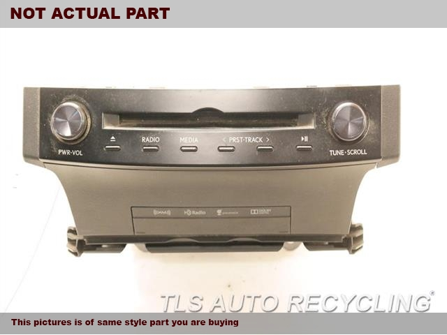 2014 Lexus IS 250 Radio Audio / Amp. RECEIVER, SDN, ID P10433 ON RADIO