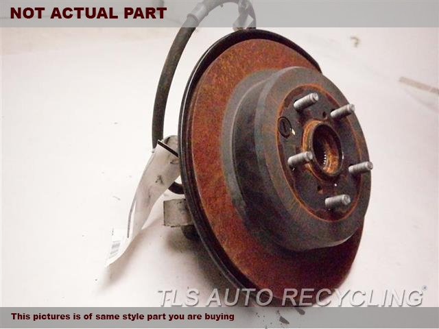 2014 Lexus IS 250 rear nuckle / stub axle. LH,SDN, L.