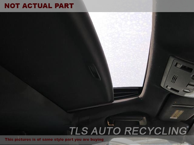 2014 Lexus IS 250 Roof Assembly. BLK,SDN, SUNROOF