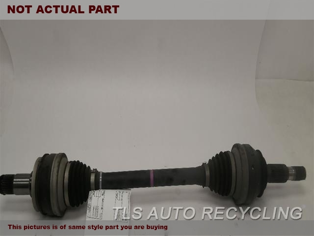 2014 Lexus IS 250 Axle Shaft. LH,REAR AXLE, RWD, L.