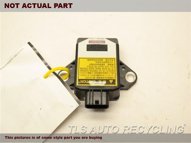 2008 Lexus RX 350 Chassis Cont Mod. YAW RATE SENSOR 89183-48010