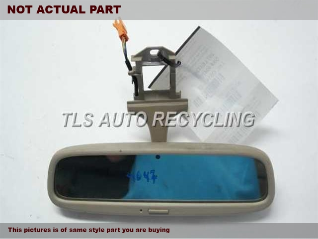 2000 Lexus LS 400 Rear View Mirror Interior. TAN REAR VIEW MIRROR  87810-50061