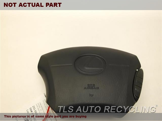 2000 Lexus LS 400 Air Bag. 45100-50091-E0BROWN STEERING WHEEL AIR BAG