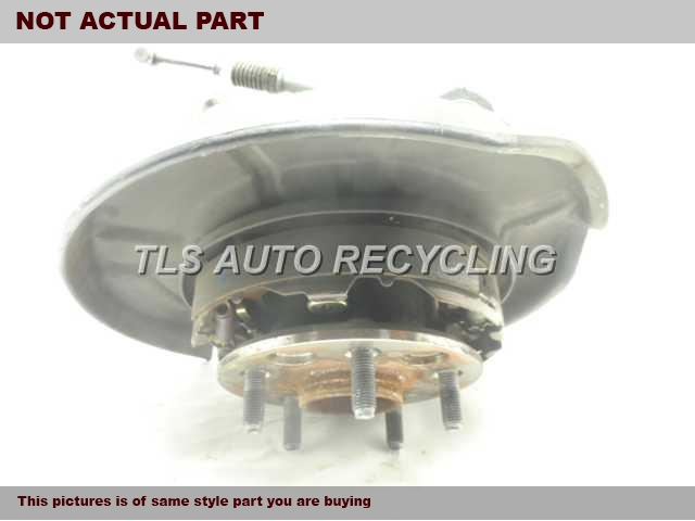 2000 Lexus LS 400 rear nuckle / stub axle. 42304-50080 42420-50050PASSENGER REAR KNUCKLE W/HUB