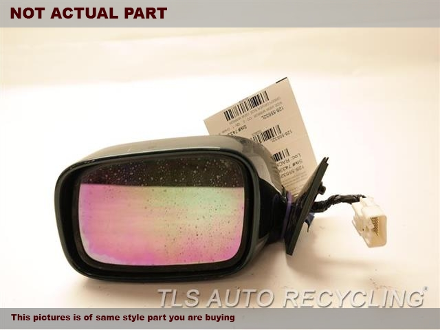 2000 Lexus LS 400 Side View Mirror. 87940-50300 REPAINT. PAINT PEELING OFFBLACK DRIVER SIDE VIEW MIRROR