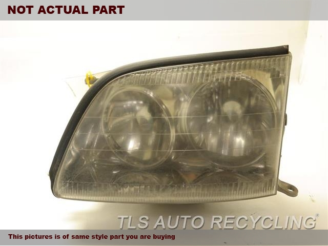 2000 Lexus LS 400 Headlamp Assembly. 81150-50160DRIVER HEADLAMP HID COMPLETE