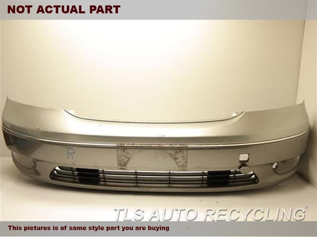 2002 Lexus LS 430 Bumper cover Front. REPAINT, SCUFFS ON BOTH SIDESSILVER FRONT BUMPER COVER
