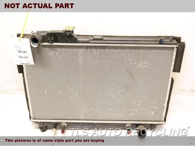 2001 Lexus LS 430 Radiator. W/O TOW PACKAGE