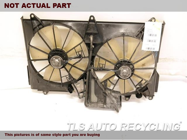 2004 Lexus LS 430 Rad Cond Fan Assy. RADIATOR FAN ASSEMBLY 16711-50110