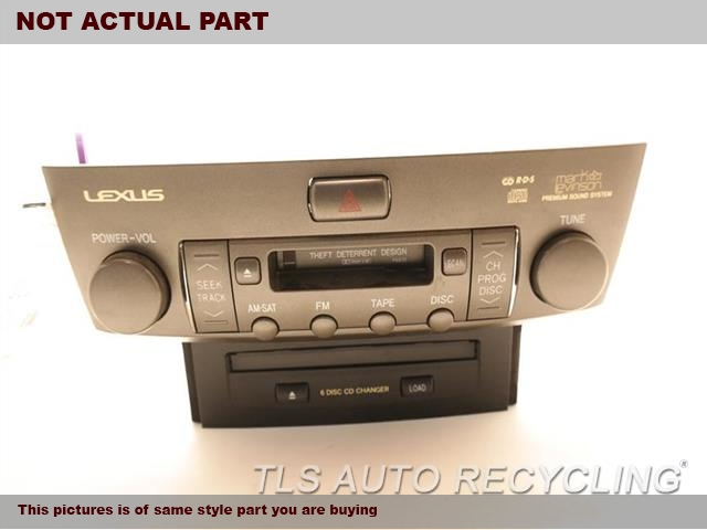2005 lexus ls 430 radio audio amp 8612050b90radio. Black Bedroom Furniture Sets. Home Design Ideas