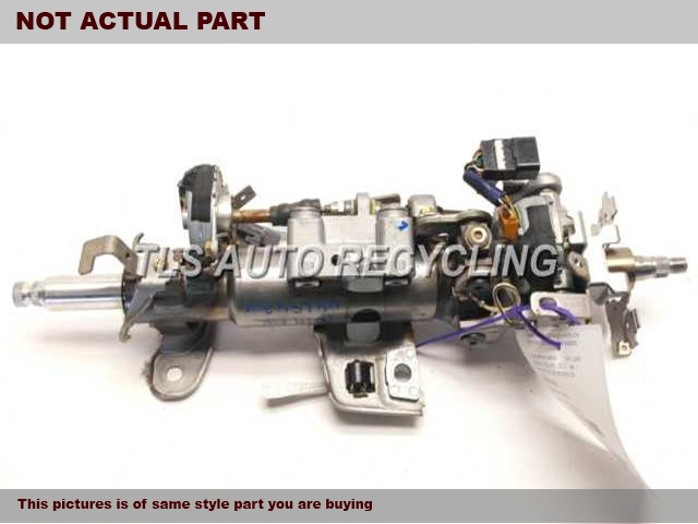 2004 Lexus LS 430 Steering Column. FLOOR SHIFT, 6 SPEED, KEYLESS