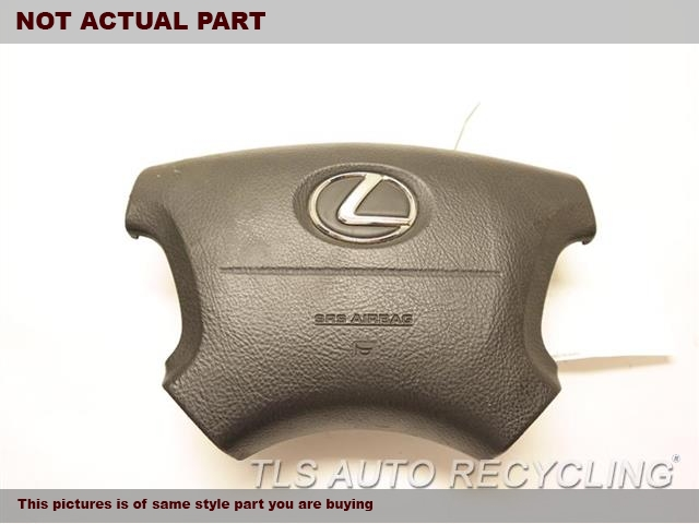 2004 Lexus LS 430 Air Bag. 45130-50220-E0BROWN STEERING WHEEL AIR BAG