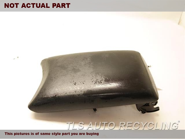 2007 Lexus LS 460 Console front and Rear. 58905-50270-C0BLACK LEATHER CENTER CONSOLE LID