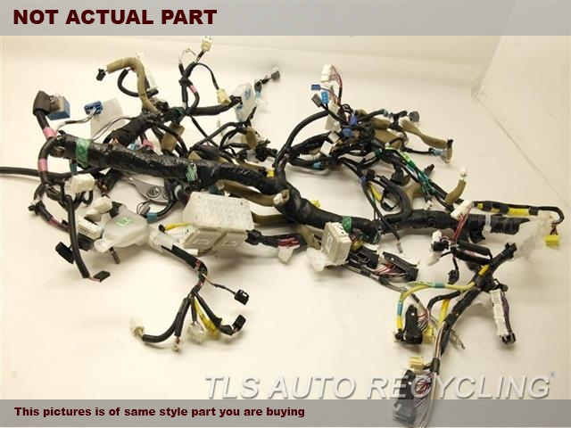 lexus_ls460_2007_dash_wire_harness_244472_01 parting out 2007 lexus ls 460 stock 6142bl tls auto recycling  at couponss.co