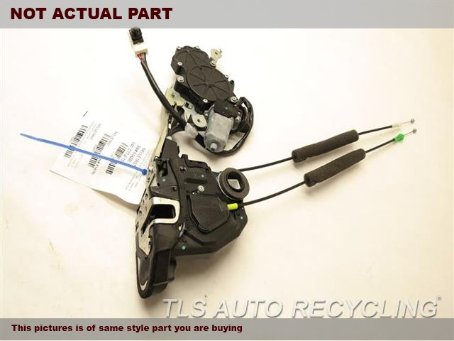 2007 Lexus LS 460 Lock Actuator.  W/EASY CLOSER 69050-50080PASSENGER REAR DOOR LOCK ACTAUTOR