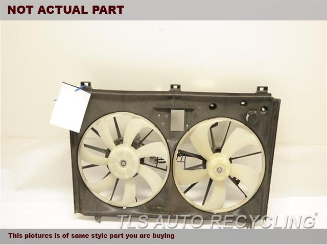 2007 Lexus LS 460 Rad Cond Fan Assy. RADIATOR FAN ASSEMBLY 16711-38060