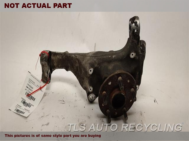 2010 Lexus Ls 460 Spindle Knuckle, Fr  RH,RWD, R.