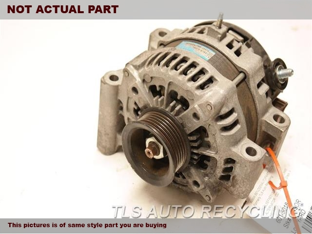 2010 Lexus LS 460 Alternator. 4.6L,(180 AMP)