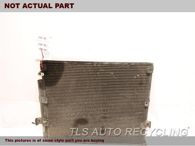 2000 Toyota Land Cruiser AC Condenser. FRONT AND REAR AC